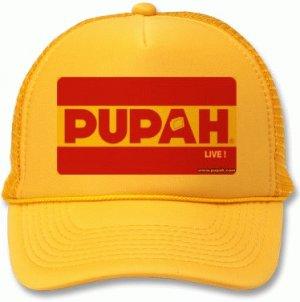 PUPAH LIVE !-Yellow Truck Cap- LIMITED EDITON