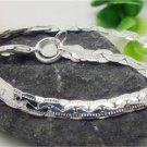 Sterling Silver Bracelet with Interwoven Links