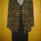 C. M. Shapes dress for woman v pretty spandex. Two pic. Strech size 2 X