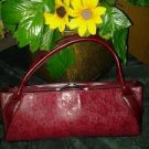 Rina. Rich  handbag 100%leather bag. V pretty purse