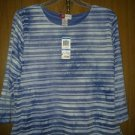 M collection spandex blouse v cute 4 her size x large