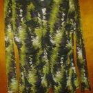 Worthington v cute blouse chiffon stretch 4 women size L