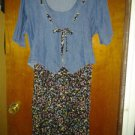 Blue jeans. V cute dress for her size 16
