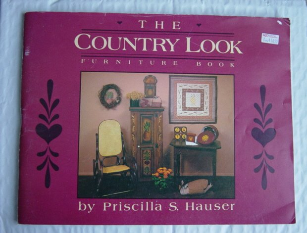 Country Look Furniture Book Priscilla Hauser Painting