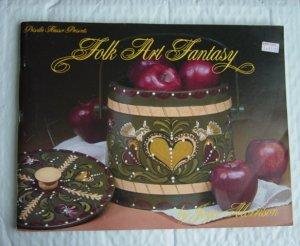 Folk Art Fantasy by Joyce Morrison Painting Book