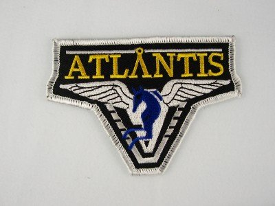 Stargate Atlantis TV Series Logo Shoulder Patch
