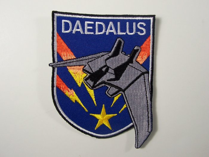 Stargate Atlantis TV Series Daedalus Ship Logo Patch