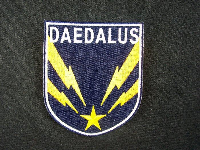 Stargate Atlantis TV Series Daedalus Ship Crew Patch