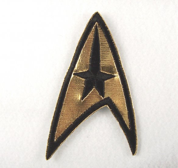 Star Trek Classic TV Series Command Logo Chest Patch