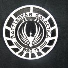 Battlestar Galactica BSG 75 Marines Black Logo Patch