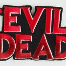 Evil Dead Movie Name Logo Embroidered Patch