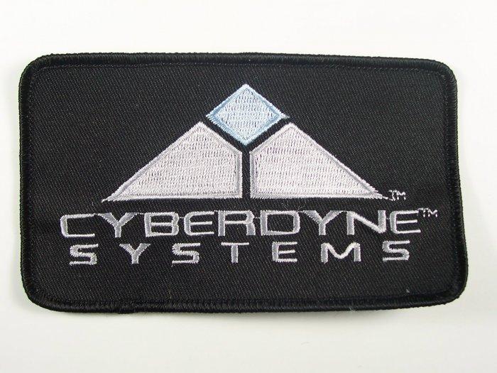 Terminator Movies Cyberdyne Systems Logo Patch