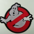Ghostbusters Movie No Ghosts Logo Jacket Patch