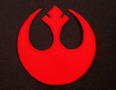 Star Wars Rebel Alliance Red Squadron Logo Patch
