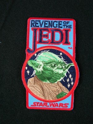 Star Wars Revenge of the Jedi Yoda Logo Patch