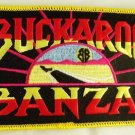 Buckaroo Banzai Movie Logo Embroidered Patch