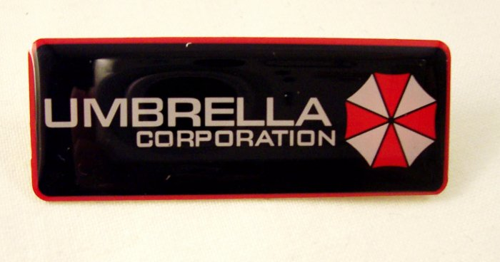 Resident Evil Umbrella Corporation Logo Enamel Pin