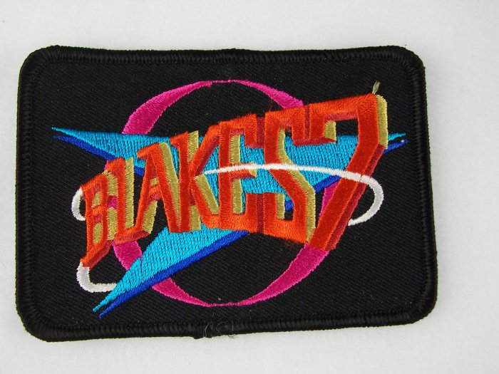 Blakes 7 British TV Show Embroidered Patch