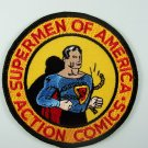 Supermen of America Club 1950's Logo Embroidered Patch