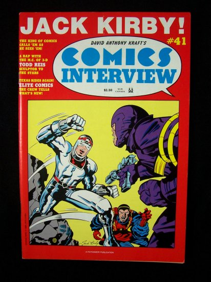 Comics Interview #41 Jack Kirby Bob Burden 1986