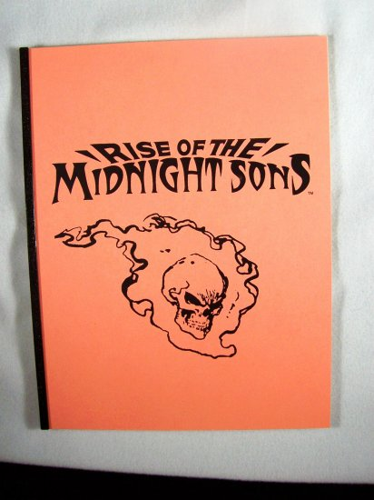 Marvel Comics Black & White Proof Preview Rise of the Midnight Sons