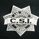 CSI: TV Series Las Vegas Police Logo Embroidered Patch
