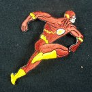 D.C. Comics Flash Running Figure Embroidered Patch