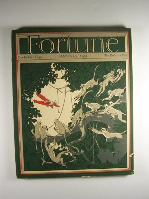 Fortune Magazine Vol. III No. 1 January 1931