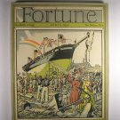 Fortune Magazine Vol 1 No. 3 April 1930 Ship Cover