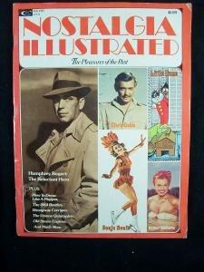 Nostalgia Illustrated V.2 #2 1975 Beatles, Bogart, Gable, more
