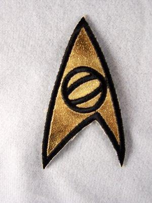 Star Trek Classic TV Series Science Logo Chest Patch