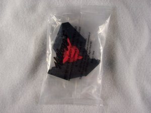 Kelloggs Star Trek Beam Up Badge Klingon New in Pack