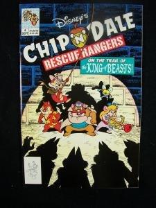 Chip 'N Dale Rescue Rangers #4 Disney Comics 1990