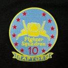 Battlestar Galactica Raptor Logo Patch