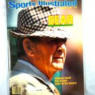 Sports Illustrated Nov. 23, 1981 Bear Bryant Cover