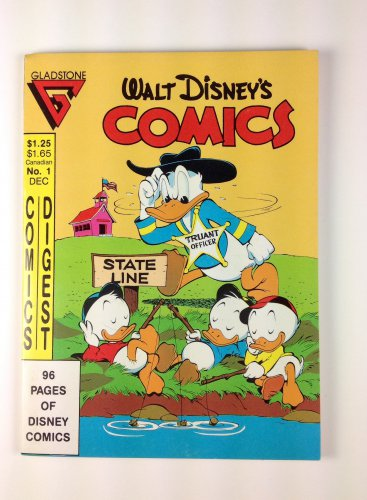 Walt Disney's Comics Digest #1 Dec. 1986