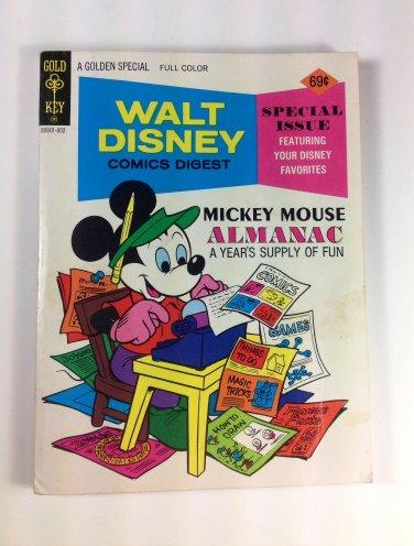 Walt Disney Comics Digest #57 Gold Key