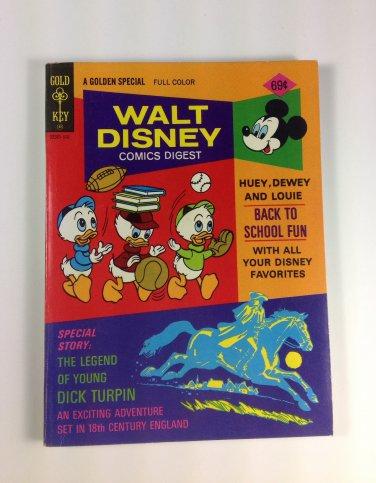 Walt Disney Comics Digest #55 Gold Key 1975