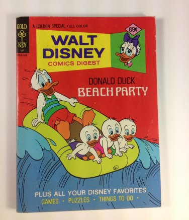 Walt Disney Comics Digest #54 Gold Key