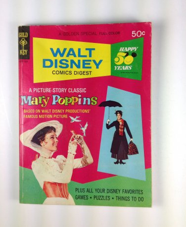 Walt Disney Comics Digest #42 Gold Key