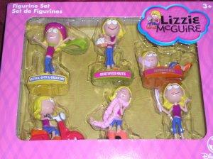 Disney Lizzie McGuire Figurine Set of 6 - New in Box!