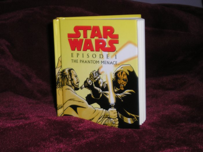 Star Wars Episode 1 Phantom Menace Mini Fat Book - NEW