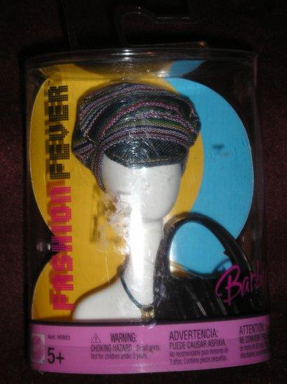 Barbie Doll Clothes Fashion Fever Mix & Match Hat/Purse