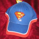 Brand New Superman Baseball Cap/Hat NWT