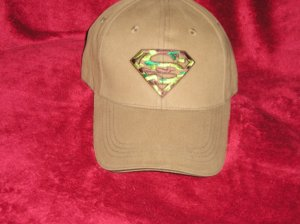 New Superman Baseball Cap/Hat NWT Great for Dad!