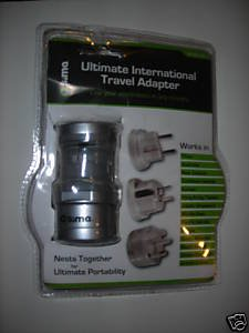 Sima SIP-3 Ultimate International Travel Adapter