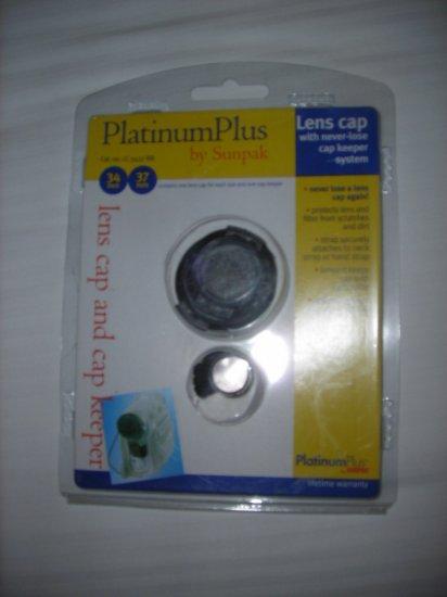 Sunpak LC-3437-BB Platinum Plus 34mm/37mm Camcorder Lens Cap