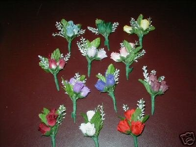 Bouttonieres/Corsages