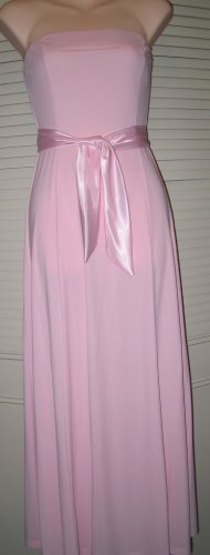 Juniors Strapless Dress for Prom, Bridesmaids or Party.  Size M