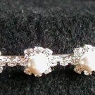 *Sale* Swarovski Rhinestone & Pearl Rosette Headband